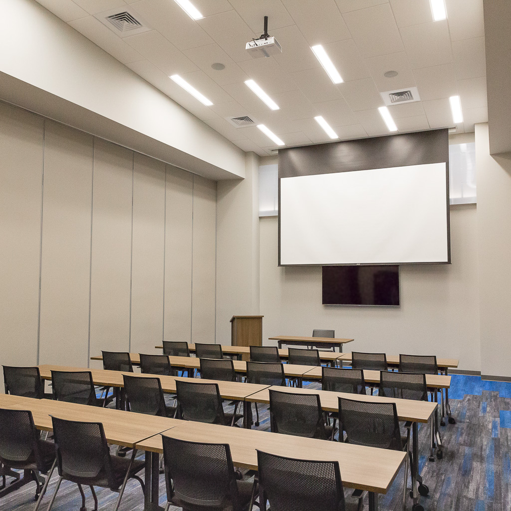 Projectors and Meeting Spaces